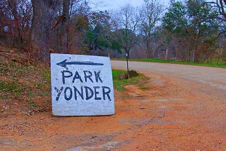 Park Yonder parkeerplaats teken
