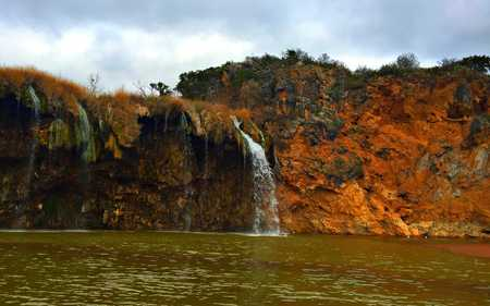 Waterfall on the Colorado River