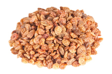 Raisins on a white background Stock Photo - 16556878
