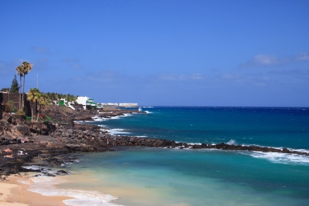 Coastal Breackwater in Costa Teguise