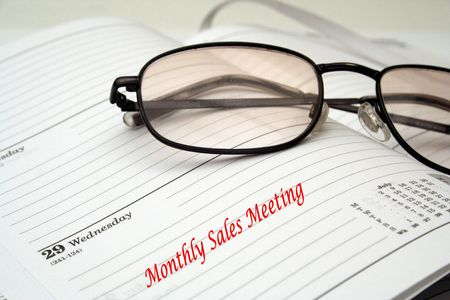 important notice: monthly Sales Meeting