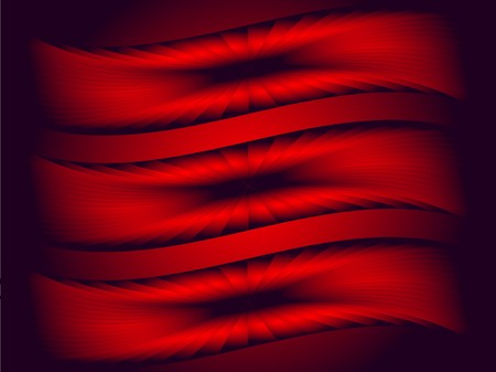black metallic background: An abstract red and black background with a metallic design on a dark background Illustration