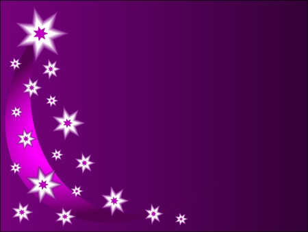 A christmas background with mauve and white stars an room for texgtp Vector