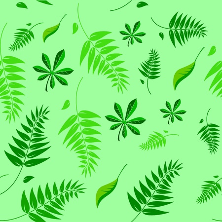 A seamless spring and summer floral vector background illustration which can be tiled. Vector