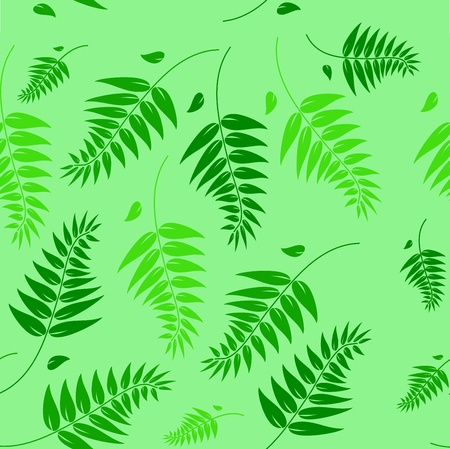 A seamless spring and summer floral background illustration which can be tiled. Vector
