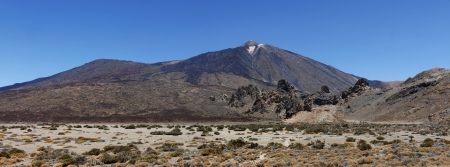Image panoramique du volcan Teide conique ou El Teide � T�n�rife photo