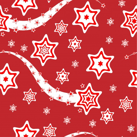 feastive: Christmas wrapping paper or background vector illustration Illustration