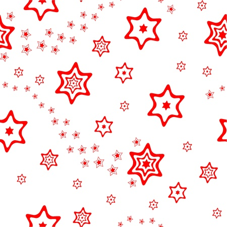 Christmas wrapping paper or background vector illustration Illustration