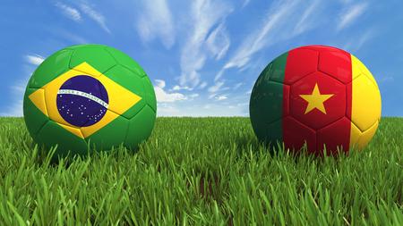 Brazil  Cameroon