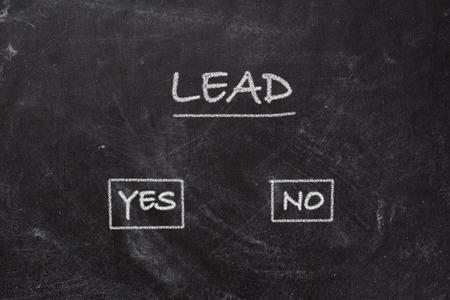Blackboard  Lead