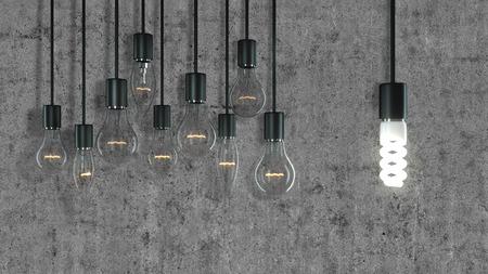 Old Bulbs Vs. Eco Bulb