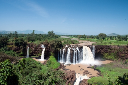 Blue Nile Falls in Ethiopia