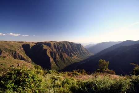 Simien mountains photo