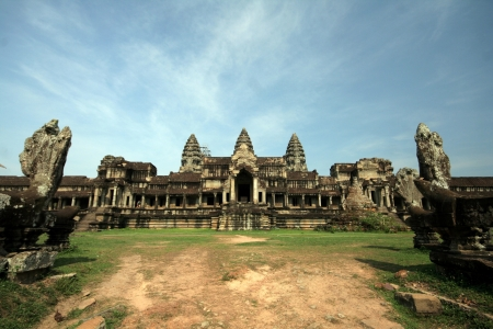 to reap: Angkor Temple, Siem Reap, Cambodia Stock Photo