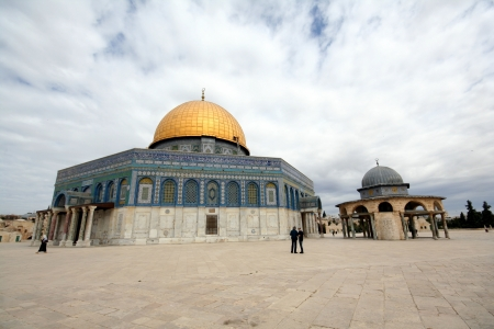 Jerusalem, old city, the Dome of the Rock, Temple Mount, Israel Stock Photo - 13651920