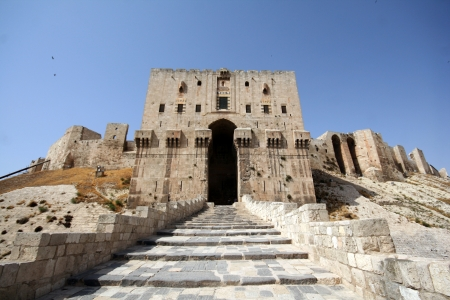 Fort in Syria photo