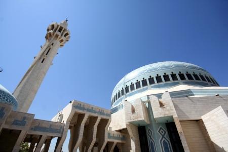 king hussein: Blue Mosque in Amman, Jordan