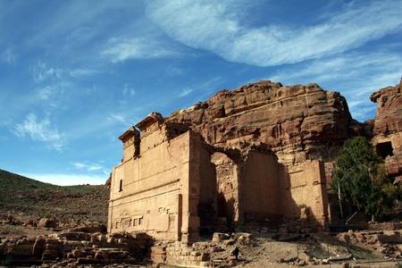 nabatean: Petra in Jordan, Nabatean capital