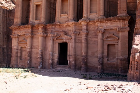 Petra in Jordan, Nabatean capital photo