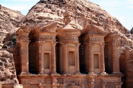 Petra in Jordan, Nabatean capital photo