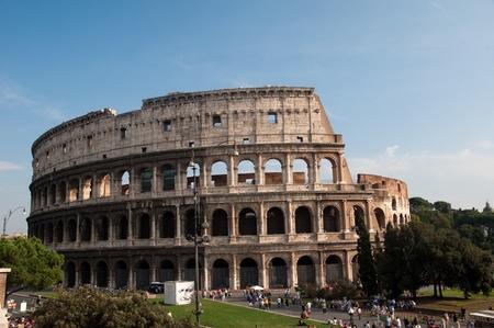 seminal: Colloseum in Rome Stock Photo