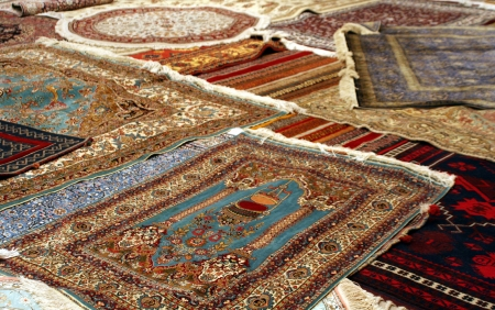 Persian carpet photo