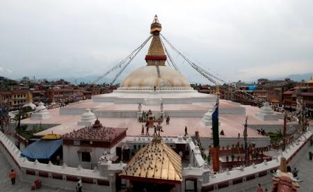 kathmandu: Bodhnath stuba in kathmandu nepal