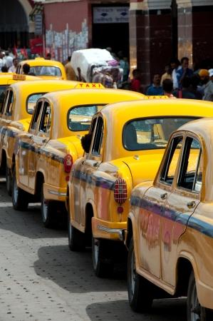 Street of Calcutta  Kolkata  Stock Photo - 13691787