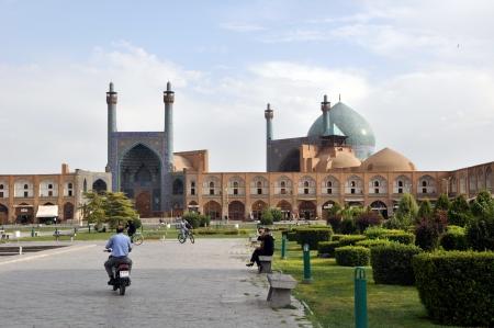 sheikh: Sheikh Lotf Allah Mosque in Esfahan - Iran, Summer day