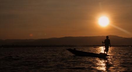 inle: Fisherman on Inle Lake