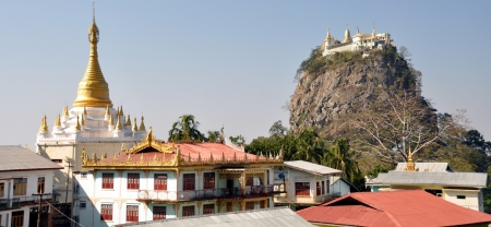 Mountain Popa photo