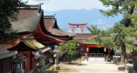 nara: Itsukushima Shrine - Miyajima, Japan