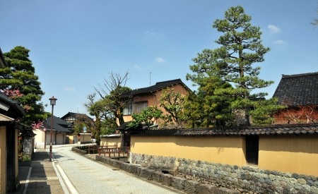 The Nagamachi District in Kanazawa, is also known for being the place where the samurai lived