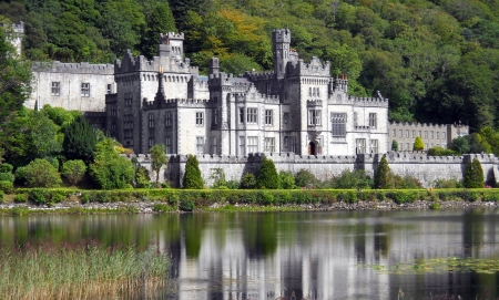 Kylemore Abbey, Ireland Editorial