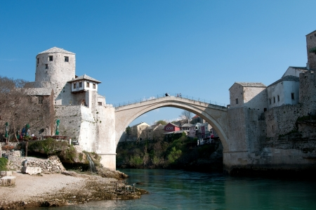 mostar: Mostar, Bosnia and Herzegovina Stock Photo