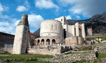 the turks: The Kruje castle is a castle in Albania and the center of Skanderbeg s battle against the Ottoman Turks