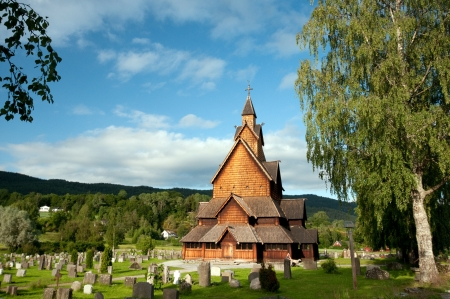 Heddal Stave Church photo