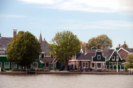 typical dutch houses  photo