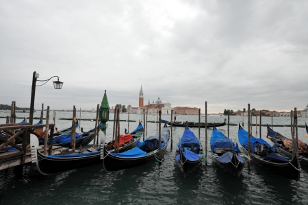 Beautiful Venetian scenery photo