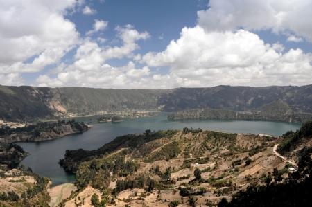 crater lake: Large panorama photo of Wenchi Crater Lake