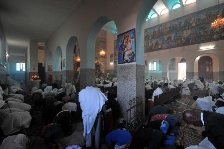 ende: Ende Mariam church in Asmara, Eritrea