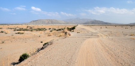 Road into the Danakil Desert, Eritrea
