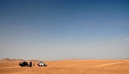 eritrea: Road into the Danakil Desert, Eritrea