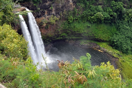 Rainbow Falls  Big Island, Hawaii  photo