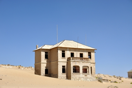 kolmanskop: Kolmanskop Stock Photo
