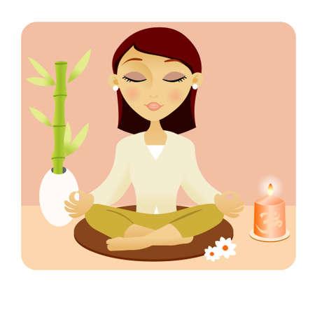 meditation Stock Vector - 9147265