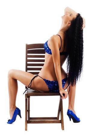 Sexy model in bikini Stock Photo - 10224147