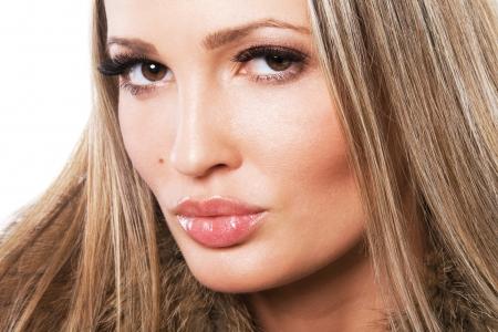 Face portrait of a gorgeous model Stock Photo - 14573809