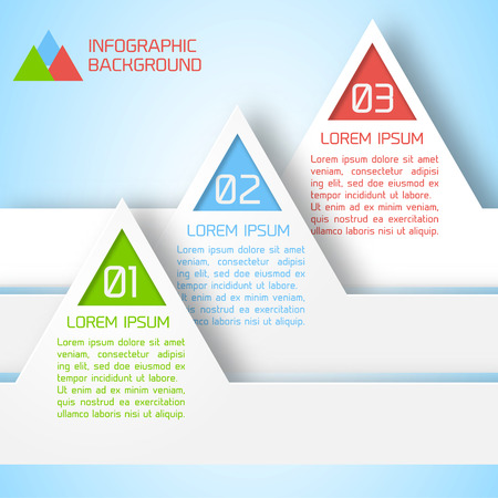 Abstract paper infographic background for you Design