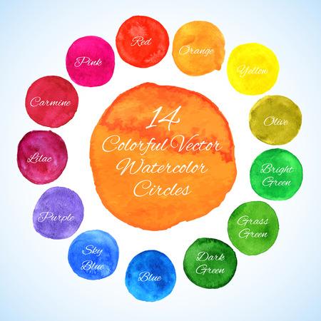 Plantilla de colores para sus diseños, grabados e ilustraciones Foto de archivo - 42708736